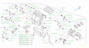 2014 Subaru Forester Hvac Blower Motor Housing Clip