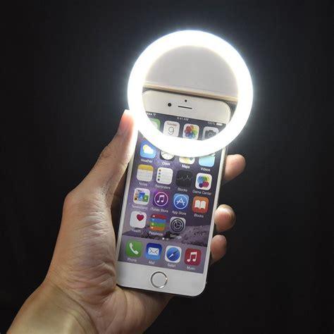 lights when phone rings smartphone selfie ring light