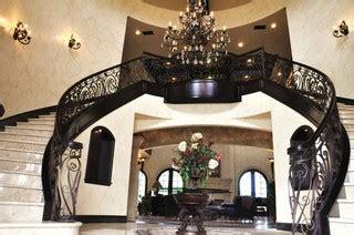 homes   built mediterranean staircase orange