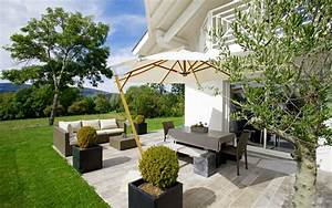 idee deco terrasse exterieure 24 id233e terrasse taupe With idee deco terrasse zen