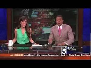KTLA TV Morning News anchors reaction - Earthquake (Hip ...