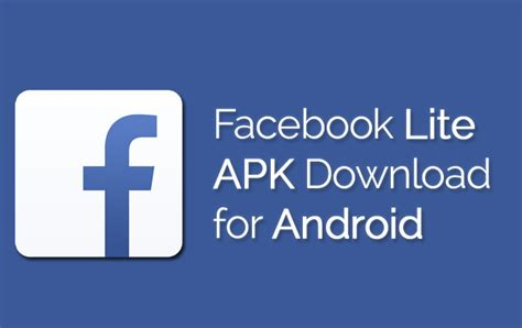 facebook lite apk   android latest version
