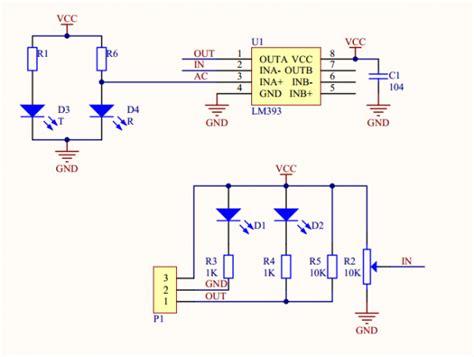infraredir obstacle avoidance sensor moduleadjust