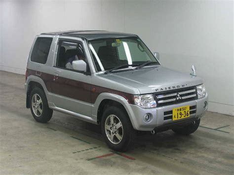Used 2008 Mitsubishi Pajero Mini Photos 660cc Gasoline