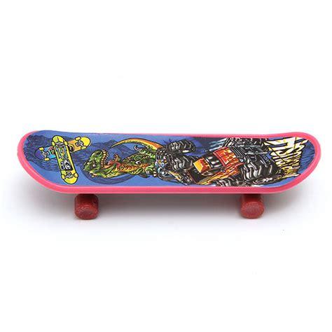 4x Mini Plastic Tech Deck Toy Skate Finger Board