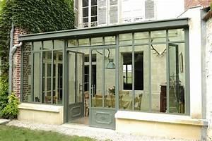 Veranda Style Atelier : veranda en acier atelier d 39 artiste largeur montant cal e sur largeur fenetre fonctionne bien ~ Melissatoandfro.com Idées de Décoration
