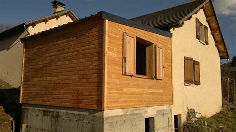 extensions bois maison bois ossature bois