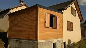 Cout Extension Bois : extensions bois maison bois ossature bois ~ Nature-et-papiers.com Idées de Décoration