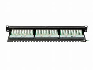 Monoprice Entegrade Series Cat6 Ftp 19in 1u Patch Panel