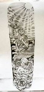 half sleeve tattoo stencils for men - Google Search ...