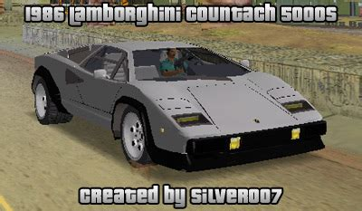 gta place lamborghini countach