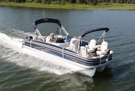 Boat Hull Efficiency by Can A Pontoon Boat Be A Serious Fishing Boat Boats