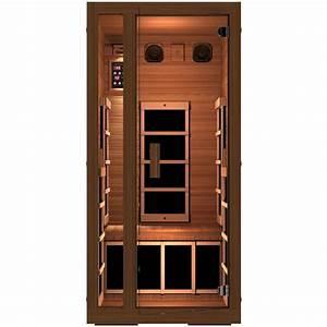 1 Mann Sauna : jnh lifestyles freedom 1 person far infrared sauna mg115rb ~ Articles-book.com Haus und Dekorationen