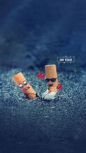 Creative OH Yeah Cigarette End Design Art #iPhone #7 # ...