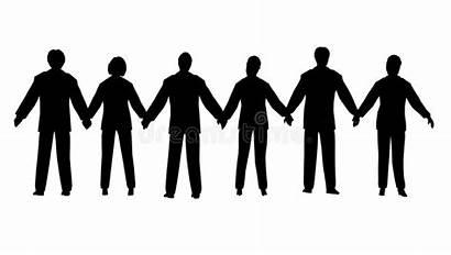 Chain Mensen Gente Bedrijfs Ketenen Affari Catena