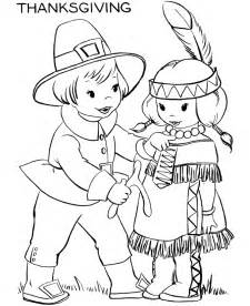 thanksgiving coloring pages american indian coloring pages