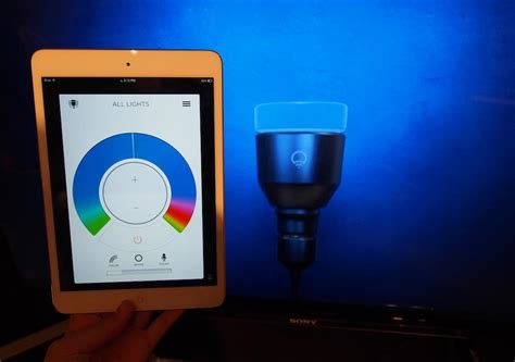 lifx led smart bulbs preview at ce week new york 2013