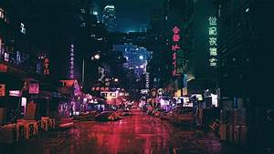 Wallpaper, Futuristic, Future, World, Night, 4k, Art, 20316