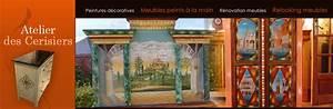 Peinture Sur Meuble : peinture sur meuble avec les meilleures collections d 39 images ~ Mglfilm.com Idées de Décoration