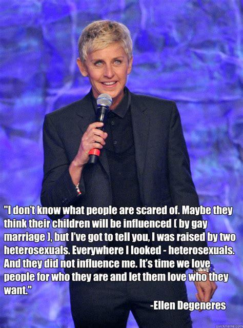 Ellen Degeneres Meme - ellen degeneres quotes memes