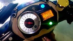 Pasang Speedometer Fu Di Motor Shogun