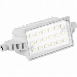 Led halogen replacement floodlight lamp w lm mm