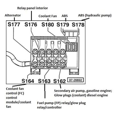 image result for 2002 vw beetle battery fuse box diagram vw beetles gasoline engine beetle