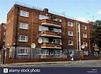 Council Flats Hackney London England UK Stock Photo - Alamy