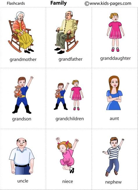 Family 2 Flashcard