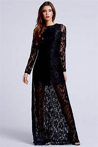 Fashion For Home Outlet : outlet girls on film black lace sleeve maxi dress outlet girls on film from little mistress uk ~ Bigdaddyawards.com Haus und Dekorationen