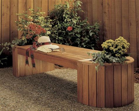 planterbench combo woodworking plan  wood magazine