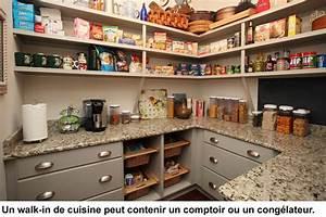 Garde Manger Cuisine : walk in et rangement efficaces pour la cuisine ~ Nature-et-papiers.com Idées de Décoration