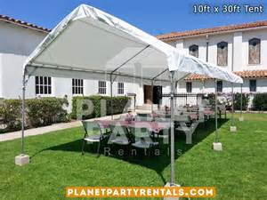 party tent rental prices 10ft x 30ft tent rental