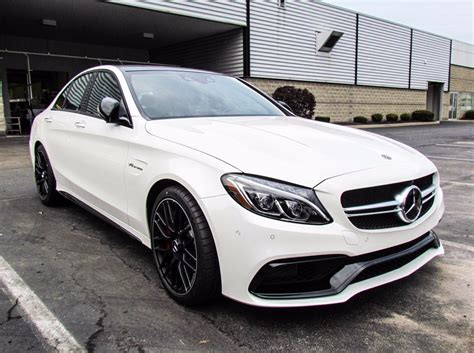 Mercedes C Class Sedan Picture by Stock W17017 New 2018 Mercedes C Class Amg 174 C 63 S