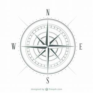 Compass sketch Vector | Free Download
