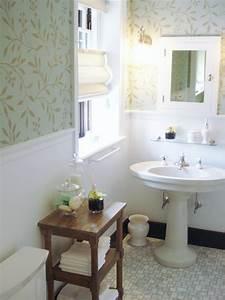 Wallpaper In Bathrooms