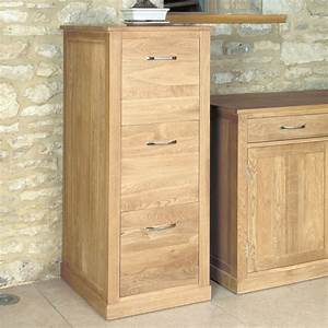 Mobel Oak Three Drawer Filing Cabinet Was 54000 Now 440