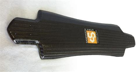 carbon fiber longboards sandwich tech