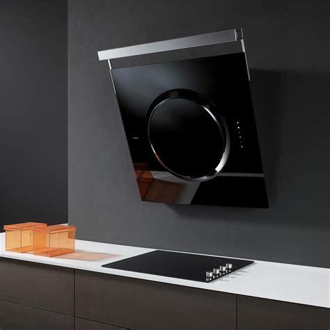 mitigeur noir cuisine elica hotte de cuisine décorative om touch screen verre