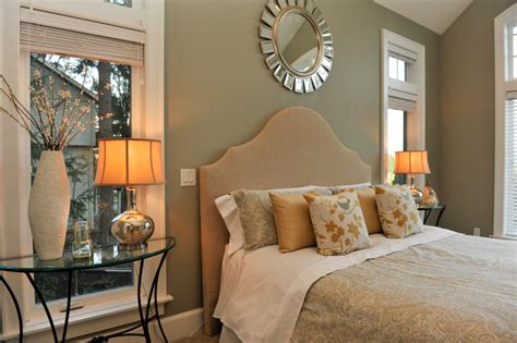 master bedroom staged  synergy staging contemporary