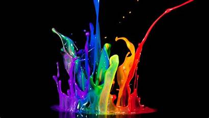 Splash Wallpapers Background Neon Backgrounds Cool Paint