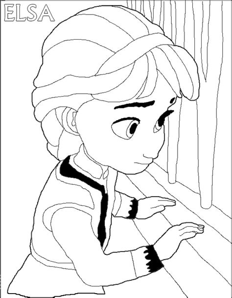 principesse da colorare elsa disegni elsa stare colorare giochi di frozen