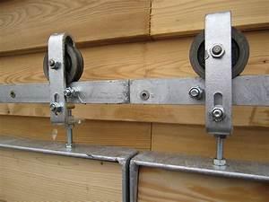 Rolltor Selber Bauen : aufh ngung schiebel den zweiteilig mit l rchenholz querbretter fenster pinterest bau ~ Yasmunasinghe.com Haus und Dekorationen