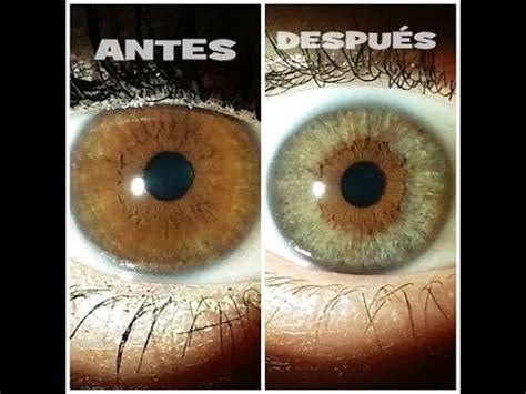 cambiar el color de los ojos  sesion youtube