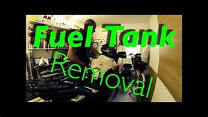 How To Remove The Fuel Tank On A Triumph Tiger1050 Sport
