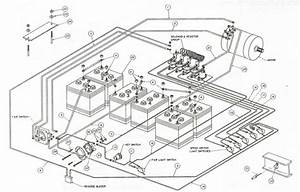 1985 Club Car Golf Cart Wiring Diagram
