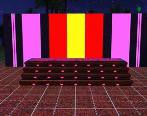 My Sims 3 Blog Glass Roof Set and Neon Lights by Luna