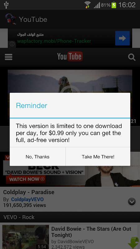 Free Youtube to MP3 Converter FREE APK Download For
