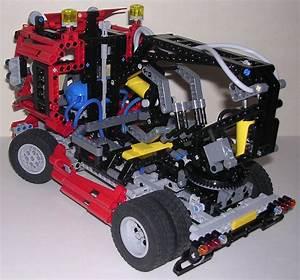 Lego Technic Camion : review lego technic 8436 camion grue ~ Nature-et-papiers.com Idées de Décoration