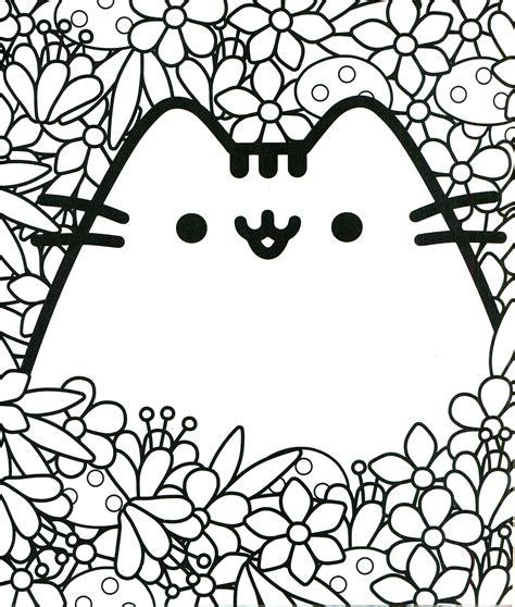 pusheen coloring book pusheen pusheen the cat para colorear pusheen dibujos para colorear y